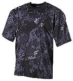 MFH US T-Shirt, halbarm, Snake Black, 170g/m² - L