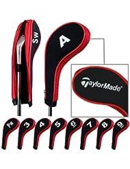 Taylormade capuchon de golf avez nuque long zippé 10pcs Noir/rouge MT/TL03