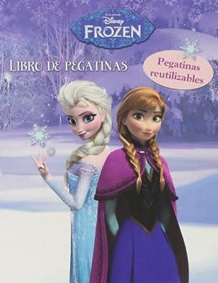 Libro de pegatinas de Frozen de Libros Disney