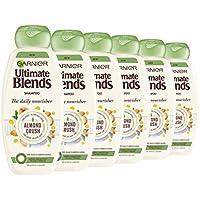 Ultimate Blends Garnier Almendra Leche y Agave Sap Normal Champú para el cabello, 360 ml