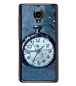 PrintVisa Hand Time Clock High Gloss Designer Back Case Cover for Xiaomi Redmi 1S :: Xiaomi Hongmi 1S