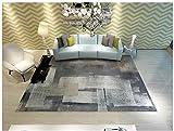 Y-XM Teppiche Geometrisch Muster Polyster, Rechteckig Überlegen Qualität Teppich Gemütlich Shag Dauerhaft Teppich,02,160 * 230CM