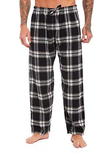 Aumsaa Herren Schlafanzughose Grau