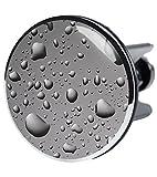 XXL Waschbeckenstöpsel Dewdrop, deckt den kompletten Abflussbereich ab, Hochglanz Design ✶✶✶✶✶