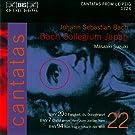 Bach : Cantates sacr�e Vol. 22 BWV 20, 7, 94