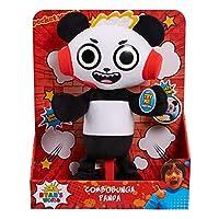 Ryans World JPL79111 Combobunga Panda Feature Plush, No Colour