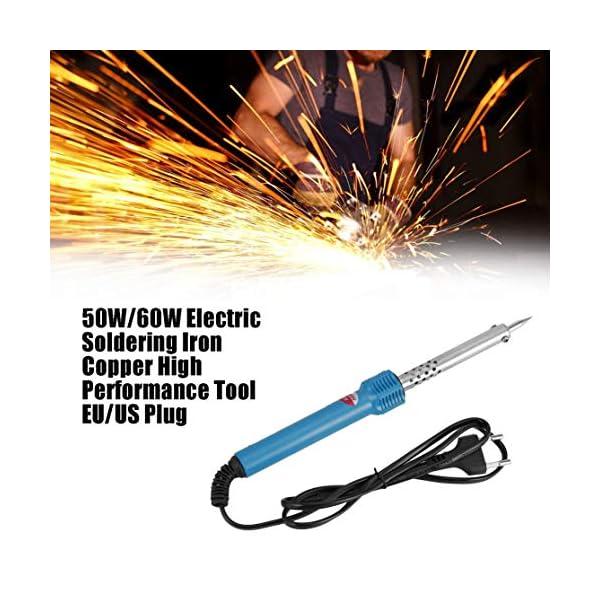 50W / 60W Soldador eléctrico Cabeza de cobre Cubierta de acero Resistencia
