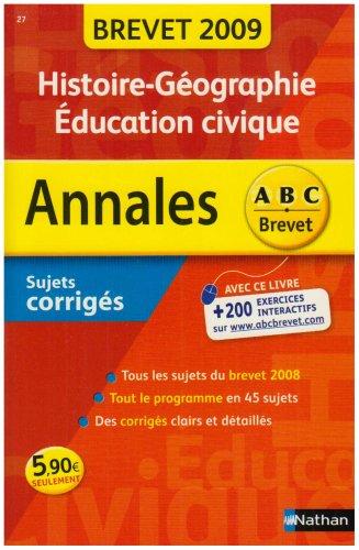 ANNAL 09 ABC BREV SUJ COR HIST