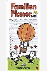 sheepworld Familienplaner 2020 21x45cm Kalender
