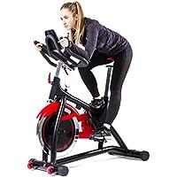 Preisvergleich für Hop-Sport Indoor Cycle HS-085IC Speed Bike Bluetooth 4.0 Smartphone Steuerung Google Street View gepolsterte Armauflagen Transportrollen Schwungmasse 18 kg