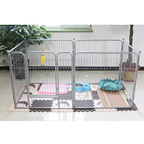 Recinzione dell\'animale domestico, Gabbia del recinto dell\'interno del Cane del recinto della Gabbia del Ferro del recinto dell\'animale Domestico del Cucciolo del Cane