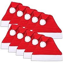 Confezione da 20 berretti di Babbo Natale 292cb261266e