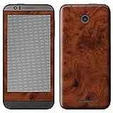 atFolix HTC Desire 510 Skin FX-Wood-Root Designfolie Sticker - Holz-Struktur/Holz-Folie