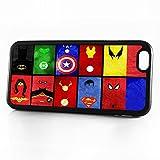 (pour iPhone 55S/iPhone Se) Téléphone Coque Arrière–Hot10874Super-Héros...