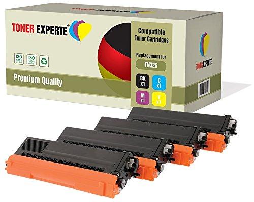 4er Set TONER EXPERTE® Premium Toner kompatibel zu TN325 für Brother HL-4140CN, HL-4150CDN, HL-4570CDW, HL-4570CDWT, DCP-9050CDN, DCP-9055CDN, DCP-9270CDN, MFC-9460CDN, MFC-9465CDN, MFC-9970CDW