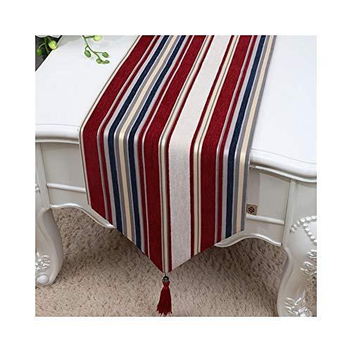 Stoff Traditionellen Tabelle (Moderne Minimalistische Tischfahne, Lange Tischfahne Des Spitzens Gewebe-Fernsehschrankes/Couchtisch-Tischfahne/Schuhabdeckungsstoff (Color : B, Size : 33 * 200cm))