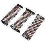 Neuftech® 3 en 1 40P 20cm Dupont Wire Jumper Cable 2.54 1P-1P mâle-mâle /femelle-femelle/femelle-mâle