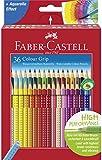 Faber-Castell 112442 - Buntstift Colour Grip, 36er Kartonetui