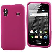 337eab53e4b MCA MURUB0014 - Funda en silicona rosa para Samsung Ace S5830