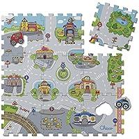 Chicco 7163 - Tappeto Puzzle, Città