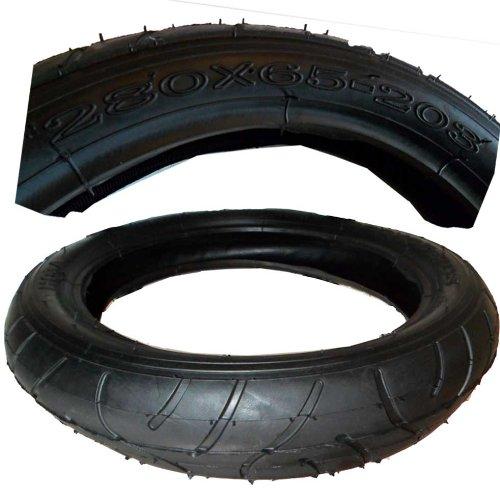 Reifen Mantel + passenden Schlauch 12 1/2 Zoll 280 x 65 -203