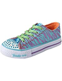 Skechers ShufflesWild Streak - Zapatillas de lona niña