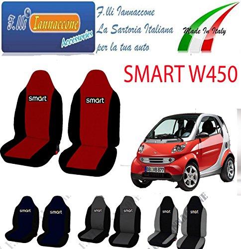 Lupex Shop Smart.Ff/_N.Gs Coprisedili Auto Nero Grigio Scuro