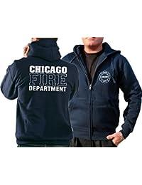 Survêtement à capuche bleu marine, Chicago Fire Department–Work
