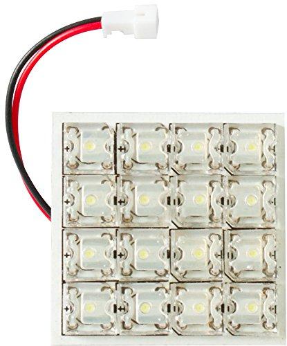 Cora 000120746 Luce di Cortesia 16 LED, 35 x 35 mm, con 5 Attacchi Lampada
