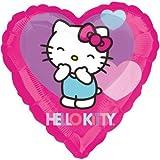 Hello Kitty Love 10x Folienballons Ø 45cm + PORTOFREI mgl + Geschenkkarte + Helium & Ballongas geeignet. High Quality Premium Ballons vom Luftballonprofi & deutschen Heliumballon Experten. Tolles Luftballon Geschenk für Kinder & Erwachsene und tolle Ballondekoration