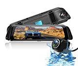 Smart Road Witness Dash Cam for Cars, Full HD 1080P 10 inch Ips