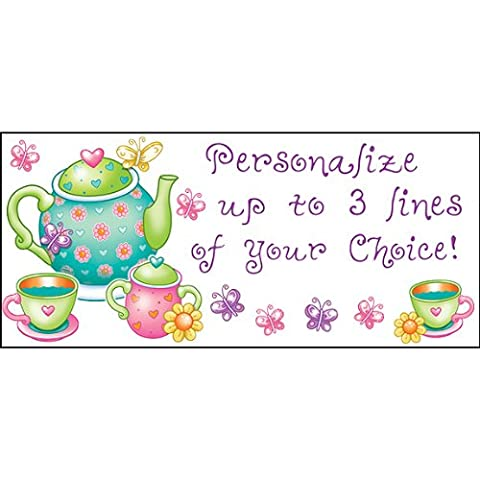 Personalized Tea Time Banner