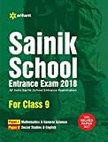 Sainik School 2018 for Class 9