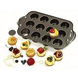Norpro antiadherente 12 Mini Tarta de Queso/Muffin Quiche Cupcake Molde