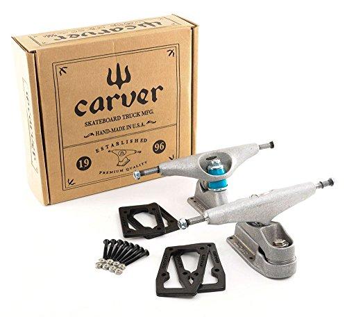 carver-65-c7-c2-surf-skateboard-truck-kit-complete-surf-cruiser-longboard-skateboard-trucks-inc-rise