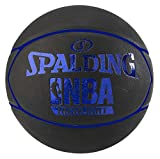 Spalding NBA Highlight Outdoor SZ.7 (83-582Z) Basketball, schwarz/Blau, 7.0