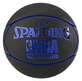 Spalding Nba Highlight Ballon de basket Noir/Bleu