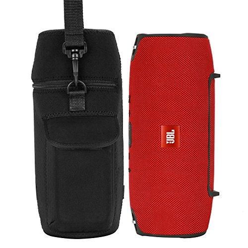 Tasche für JBL Xtreme, Wommty Wasserdicht Neopren Schutztasche Hülle Kasten TragetascheTasche Taschen mit Schultergurt für JBL Xtreme Tragbare Lautsprecher Drahtlose - Clip-on-mp3-player