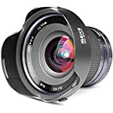 MEKE Meike 12mm F/2.8 Ultra Wide Angle Manual Foucs Prime Lens For Nikon N1/1 Mount APS-C Mirrorless Cameras
