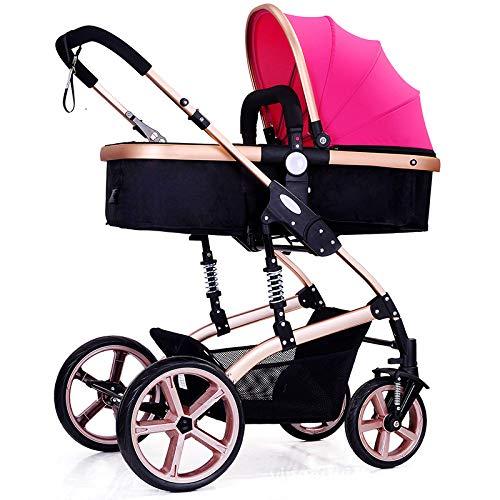Wuzhi multi 2 in 1 passeggino travel system con passeggino nuovo design,pink