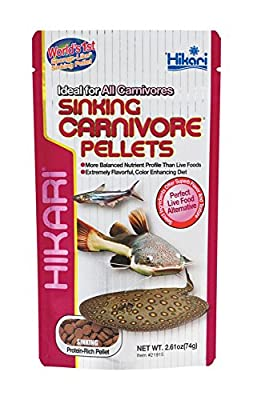 Hikari Tropical Sinking Carnivore Pellets 74g