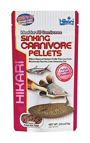 Hikari Sinking Carnivore Pellets für Haustiere, 2.61-ounce (Farbe Verbesserung Ernährung)