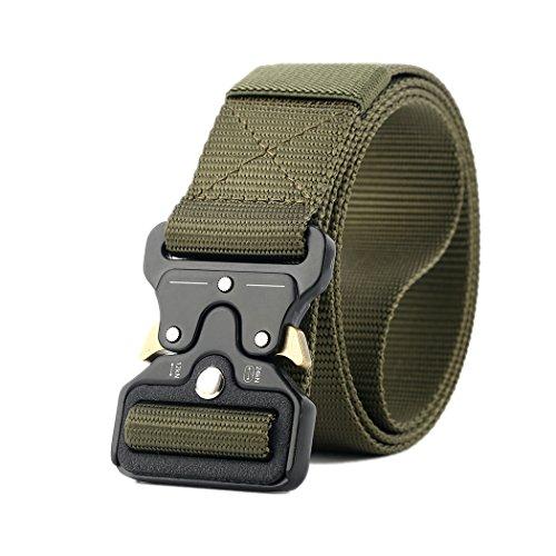 Taktische Pflicht Rigger Gürtel, MOLLE militärischen Schnellverschluss Schnalle Taillenband, Nylon Web EDC Waistbelt