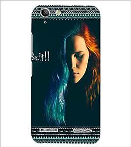PrintDhaba Quote D-4123 Back Case Cover for LENOVO LEMON 3 (Multi-Coloured)