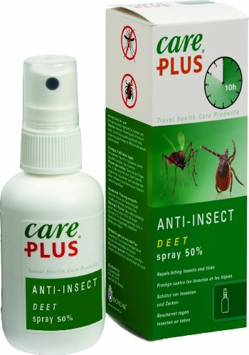 Care Plus Campingartikel Anti Insect Deet 50% Spray 60ml, TP32411 -