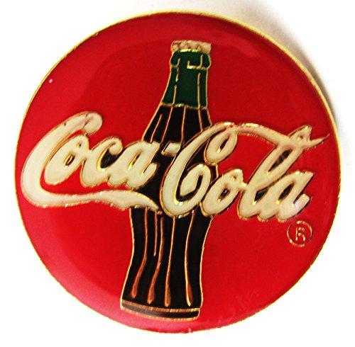 Kostüm Coca Cola Flasche - Coca-Cola - Logo & Flasche - Pin 30 mm