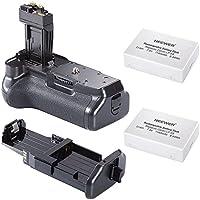 Neewer® Pro Batteria Impugnatura (Ricambio di BG-E8) per Canon EOS 550D/600D/650D/700D Rebel T2i/T3i/T4i/T5i + 2* 7.4V 1140mAh LP-E8 Batteria di Ricambio