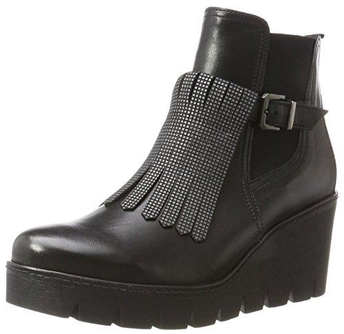 Gabor Shoes Damen Jollys Stiefel, Schwarz (20 Schwarz/Anthrazit), 40 EU