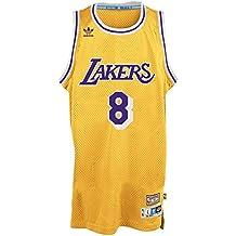 b8c2815ddefdd Kobe Bryant Los Angeles Lakers Adidas NBA Throwback Swingman Jersey Maillot  - Gold