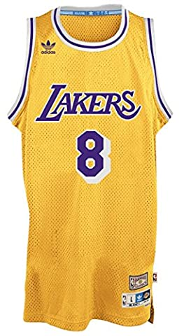 Kobe Bryant Los Angeles Lakers Adidas NBA Throwback Swingman Jersey